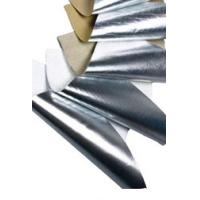 Single Side Aluminum Foil Scrim Kraft Paper Economical Grade Duct Wrap Manufactures