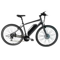 China E Bike Front Suspension Mountain Bike , Motor Assisted Bicycle Electric V Brakes on sale