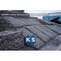 Galfan Hexagonal Wire Mesh Woven Steel Gabion Boxes With ASTM A975-97 Standard Manufactures