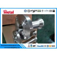 China Forged NO8825 Nipo Alloy Steel NipoFlanges , Incoloy 825 1'' 150# on sale