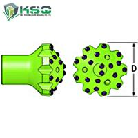 152mm Dome Drill Bit ST68 Rock Drilling Tools Threaded Drill Bits For Reaming Spherical Buttons Manufactures