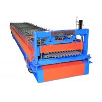 China Customized Corrugated Sheet Roll Forming Machine , Corrugated Roof Making Machine on sale