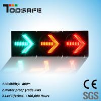 300mm LED Traffic Semaphore Light with Arrow (TP-FX300-3-303) Manufactures