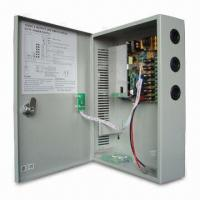 220V AC/12V DC CCTV Power Supply Unit with 6-channel, 6A Total Power, Battery Backup Connection Manufactures