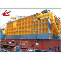 315 Ton Heavy Duty Scrap Metal Baler Equipment For Metal Smelting Plant 22kW Manufactures