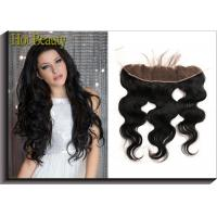 Top Lace Closure Frontal Free Part Middle Part 3 Way Part Body Wave  Straight For Hair Salon Manufactures