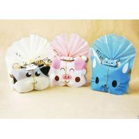 Lovely Cat Plastic Cake Bags For Packing Bakery Breads , Cookie Plastic Bags Manufactures
