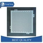 3004 Irregular Shape Custom Aluminum Panels Perforated Alloy Sheet With Artistic Hole Manufactures