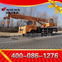 small wheel crane truck mounted crane with telescopic GNQY-898 Manufactures