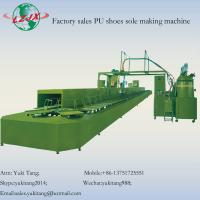 China PU shoes foaming machine with annular production line on sale