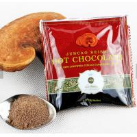 hot selling Chinese herbal extract lingzhi  hot chocolate coffee ganoderma lingzhi coffee 3 in 1 instant coffee powder Manufactures