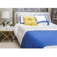 Hotel Bedroom Furniture Stainless Steel Base Nightstand with Golden Color Manufactures