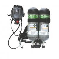 Buy cheap Double bottle Carbon / Steel Composite Cylinder Self-contained Breathing Apparatus 12L SCBA from wholesalers