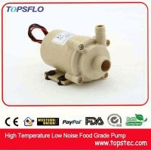 TOPSFLO dc mini pump/water cooling pump/high temperature coffee maker pump TL-B02 Manufactures