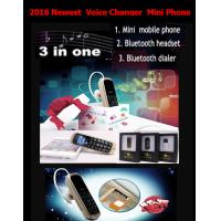 China China Mini phone J8 GTSTAR BM50 Voice Changer Small Mobile Phone smart bluetooth headset Mini phone +very small mobile on sale
