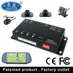 Black 4 Channel Car DVR System / Portable Mobile DVR For Vehicles Manufactures