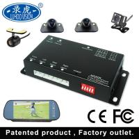 Black 4 Channel Car DVR System / Portable Mobile DVR For Vehicles Manufactures