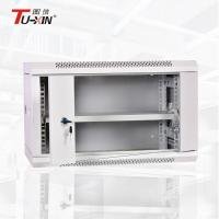 Waterproof Wall Mount Network Cabinet Single Section Stable Structure For Communication Manufactures