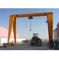 15 Ton Electric Single Beam Overhead Crane Apply To Marble Slabs Stone Factory Manufactures