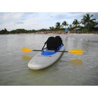Two seatting Inflatable Sup Boards pvc net cloth , inflatable racing sup Manufactures