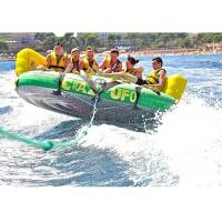 4 Passangers Inflatable Water Ski Tubes Towable Water Surfboard Platform For Beach