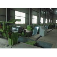 China Full Automatic Cut To Length Machines Line For Silicon Steel , 10T Weight on sale