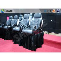 Luxury Mobile Motion Theater Chair 5D / 7D / 9D With Air And Water Spray Manufactures