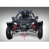 1100cc Black Go Kart Buggy Rear Wheel Drive With Manual Transmission  / Spare Parts Manufactures
