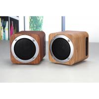 Wooden Bluetooth Speaker Wireless Computer Speaker with Enhanced Bass Resonator Manufactures
