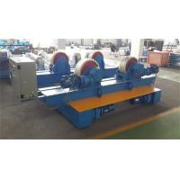 Bolt Adjustment Movable Pipe Welding Rollers , 20 T Capacity Pipe Supports Stands Manufactures