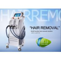 Professional IPL RF Beauty Equipment For Hair Removal , Permanent Hair Removal Machine Manufactures