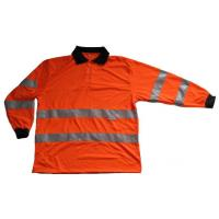 China Hi Vis Safety Polo T-Shirt Long Sleeve on sale