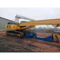 High Safety Vibratory Hammer Pile Driver , Excavator Mounted Vibratory Hammer Manufactures