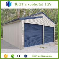 2017 Steel structure used prefab warehouse metal shed drawing Manufactures