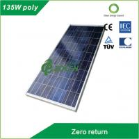 135W 18V Rated Poly PV Solar Panel For RV / Camping / OFF- grid Solar System Manufactures