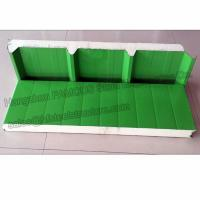 Durable Corrugated PU Roofing Panels Thermal Insulation Windproof Manufactures