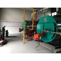 Three Pass Industrial Steam Boilers Gas Fired Hot Water Boiler For Pharmaceutical Industry Manufactures