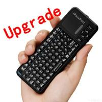 China Ipazzport Google Tv Remote With Wireless Keyboard And Htpc Keyboard on sale