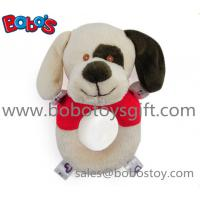 6 Plush Stuffed Soft Dog Handbell Toys For Infant Manufactures