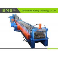 China Hydraulic Cutting Custom Roll Forming Machine For Soundproof Walls / Back Panel Metal Roof on sale