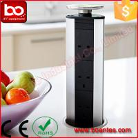 China Pull Up Kitchen Worktop Pop Up Socket With USB Charger 33*10*10 Cm on sale