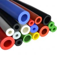 Solid silicone rubber short tube/Flexible rubber material heat shrinkable silicon tube Manufactures