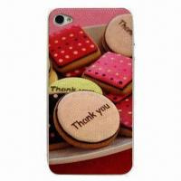 Silicone 3-in-1 Anti-slip Sticker, Suitable for iPhone 4 and 4S Manufactures