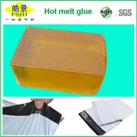 Yellow Transparent Hot Melt Glue Block For Express Bag Sealing Strong Adhesion Manufactures