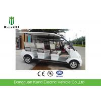 Four Wheels 8 Seater Electric Tour Bus , Electric Sightseeing Vehicle No Noise Manufactures