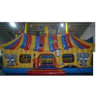 Buy cheap Large Kids Inflatable Combo , Funny House Bouncy JumpingCastles from wholesalers