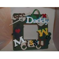 China Crafty Hand Painted Picture Frame on sale