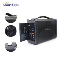 Quality Small AC DC Outdoor Solar Generator Battery Rechargeable Jump Starter for sale