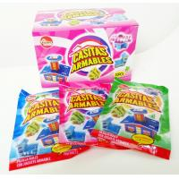 Multi Fruit Flavor CC Candy Stick Sweets With Lovely Villa Jigsaw Puzzle Toy Manufactures