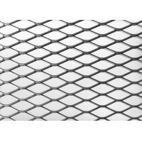 22 X 9 Mm Expanded Metal Plate , Opening Aluminum Galvanized Expanded Metal Screen for sale